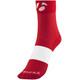 """Bontrager Race 2.5"""" Socks Unisex bonty red/white"""